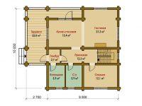 Дом из бревна-136