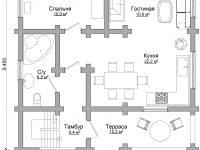 Дом из бревна-95