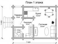 Дом из бревна-13