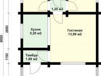 Дом из бруса-38