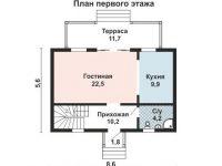 Дом из бруса-29