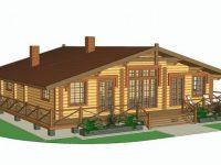 Дом из бревна-190