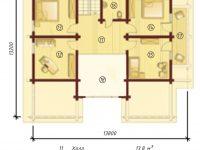 Дом из бруса-286