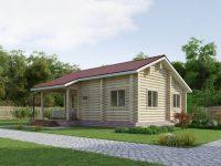 Дом из бревна-120