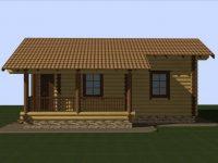 Дом из бревна-117