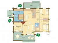 Дом из бруса-216