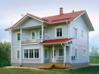 Дом из бруса-166