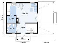Дом из бруса-113
