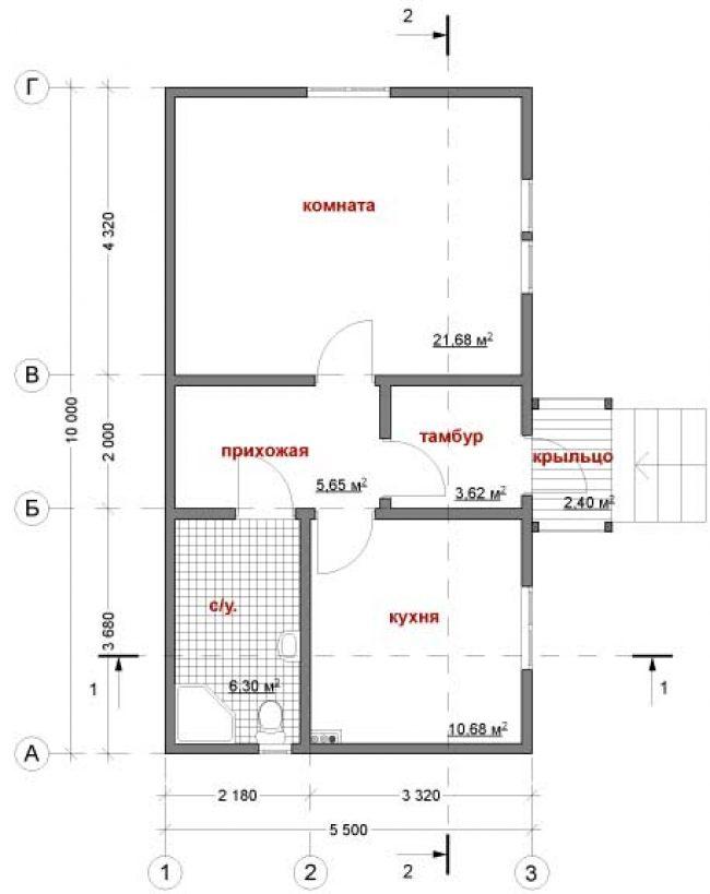 Дом из бруса-39