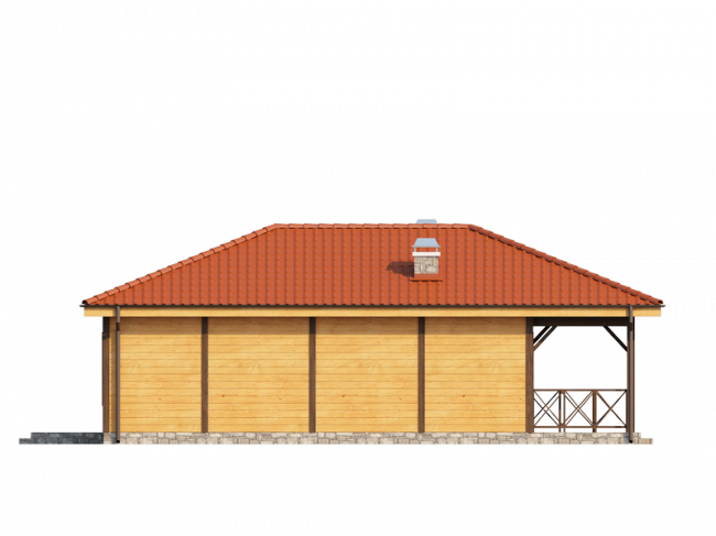 Дом из бруса-197