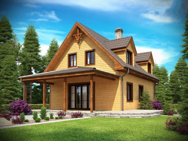 Дом из бруса-153